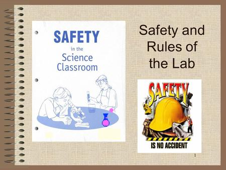 1 Safety and Rules of the Lab. 2 Do Now: You will watch a short video. As you watch the video, write down as many lab safety errors that you see. You.
