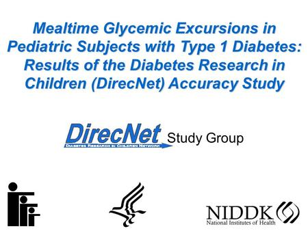 Mealtime Glycemic Excursions in Pediatric Subjects with Type 1 Diabetes: Results of the Diabetes Research in Children (DirecNet) Accuracy Study Study Group.
