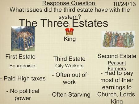 what were the grievances of the third estate