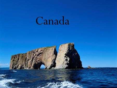 Canada. Canada is a country occupying most of northern North America, extending from the Atlantic Ocean in the east to the Pacific Ocean in the west and.