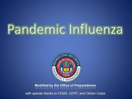 Pandemic Defined A pandemic is a global disease outbreak P-1.