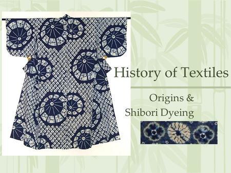 SHIBORI & TIE DYE  Dyeing Basics  Use good quality dye