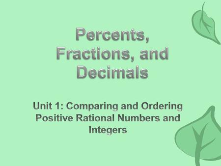 7.1 Number, Operation, and Quantitative Reasoning. The student represents and uses numbers in a variety of equivalent forms. 7.1B: Convert between fractions,