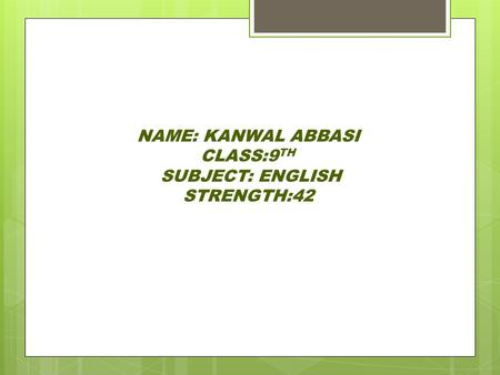 Poem : Sympathy Class : 9th Subject : English - ppt video