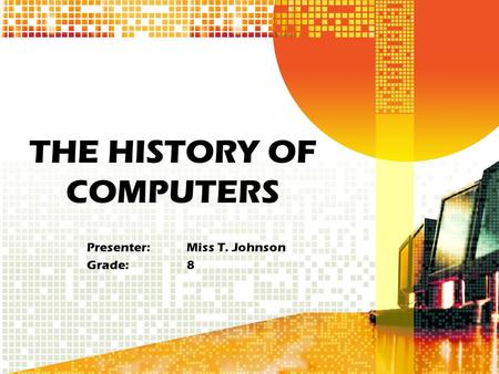 History and development of computer gaming.