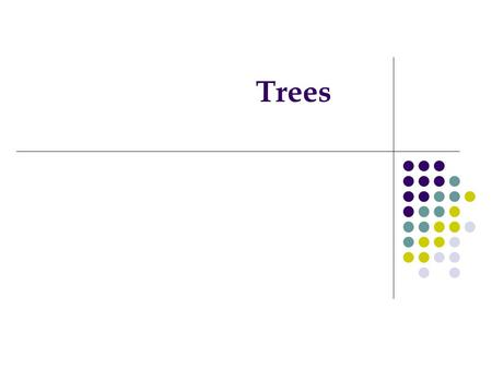 Trees. Introduction to Trees Trees are very common in computer science They come in different forms They are used as data representation in many applications.