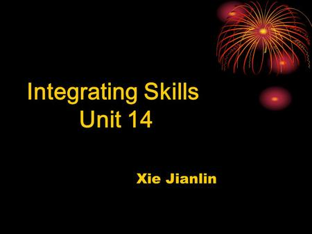 Integrating Skills Unit 14 Xie Jianlin. 2.Why is it very important? 1 When is Earth <strong>Day</strong>? 3.What should we do? Earth <strong>Day</strong> is <strong>celebrated</strong> on March 21,the.