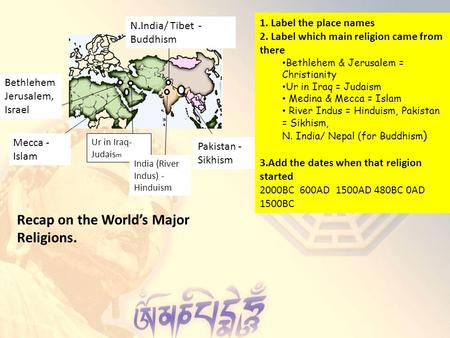 Spread of World Religions - ppt download