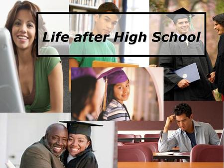 Life after High School. Review… Review… Understanding the school system: Standards & Exams Understanding the school system: Standards & Exams Activity: