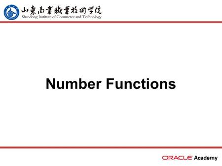 Number Functions. 2 home back first prev next last Review single-row character functions –character case-manipulation functions  LOWER, UPPER, INITCAP.