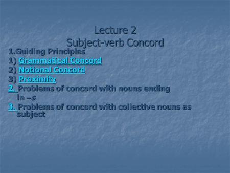 proximity concord