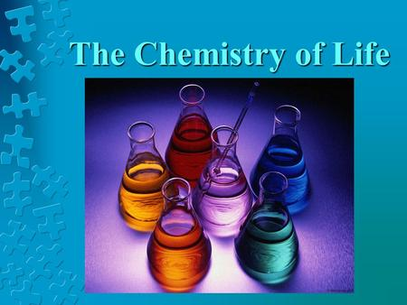 The Chemistry of Life. Relate the particle structure of an atom to identify elements. Relate the formation of covalent and ionic bonds to the stability.