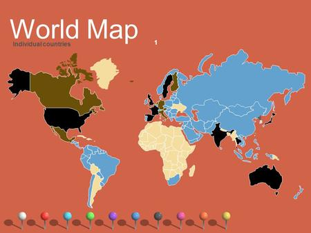 1 World Map Individual countries. #1 The World in Spatial Terms Location Where is it? Why is it there? Two Types of Location Absolute Relative.