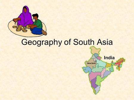 Geography of South Asia. A Diamond Breaks Away This area is called a subcontinent because it is so large and separated by water from other land areas.