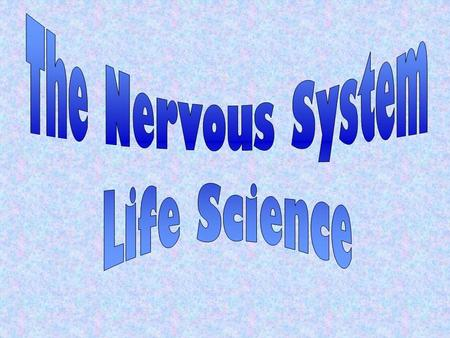 It has two basic functions: gathers and interprets information, and responses to it The nervous system is made of: The brainThe spinal cord The nervesThe.