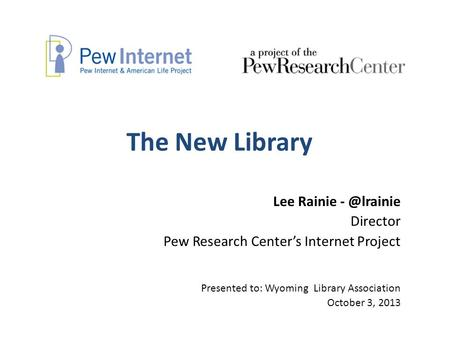 pew internet research center