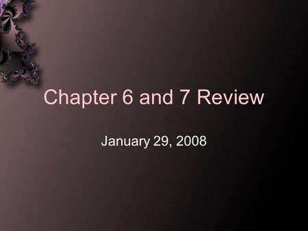 Chapter 6 and 7 Review January 29, 2008. brainstorm This is noncritical free association to generate as many ideas as possible in a short time.