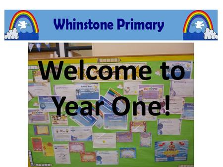 Welcome to Year One!. Staffing The teaching staff are; MRS TODD – Y1 Teacher, Key Stage One Leader, School Literacy Leader MRS WILLIAMS – Y1 Teacher MRS.