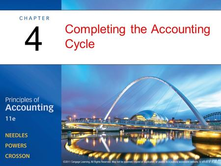 Completing the Accounting Cycle 4. From Transactions to Financial Statements OBJECTIVE 1: Describe the accounting cycle and the role of closing entries.