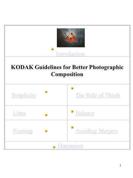Guidelines for Better Photographic Composition - ppt video online ...