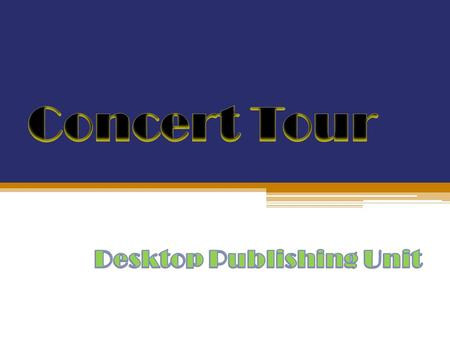 Desktop Publishing Unit