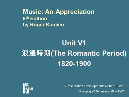 music appreciation romantic period