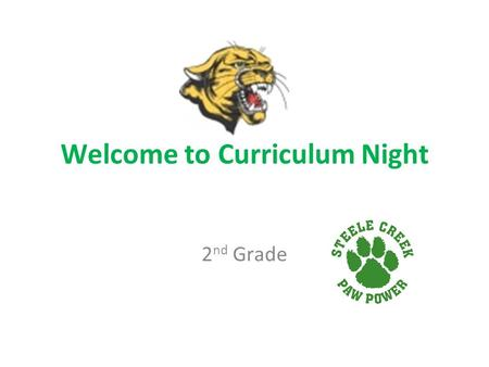 Welcome to Curriculum Night 2 nd Grade. Arrival/Dismissal and Attendance School Hours- 7:45-2:45 Students may begin arriving at 7:15 It is very important.