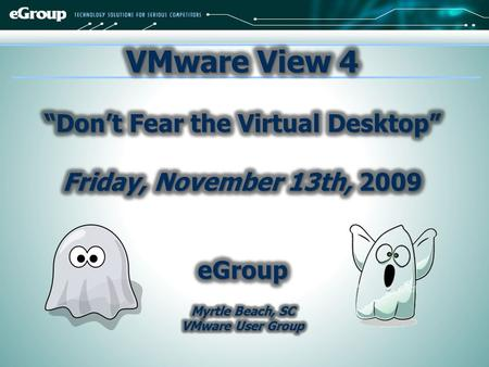 What is Driving the Virtual Desktop? VMware View 4: Built for Desktops VMware View 4: Deployment References…Q&A Agenda.