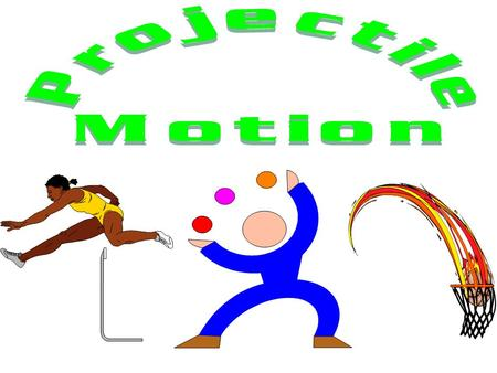 Projectile Motion Projectile motion: a combination of horizontal motion with constant horizontal velocity and vertical motion with a constant downward.