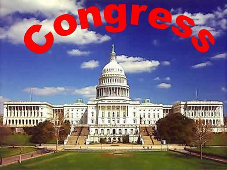 1. 2 The National Legislature Learning Objectives Why does the Constitution divide power between the two houses of Congress? What is a term of Congress?