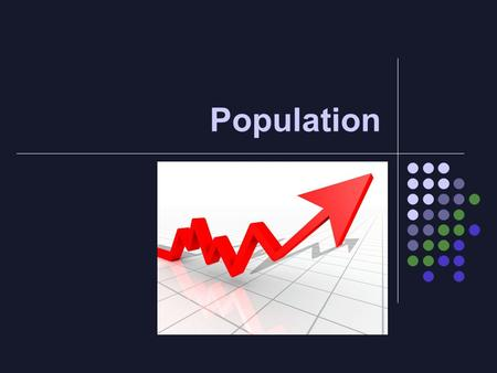 Population. Where would you rather live? Population There are more than 7 billion people living on the earth. This number has grown drastically since.