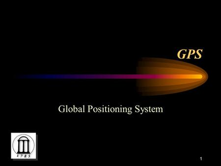 Global Positioning System - ppt download