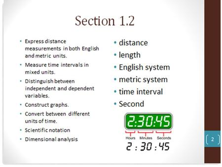 Do Now: What is the speed of an object that is standing still? Objective: to define and calculate speed.