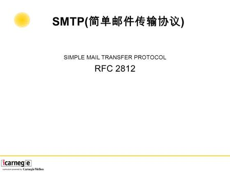 Chapter 7 SMTP: Sending Mail  Net::SMTP and MIME-Tools Net