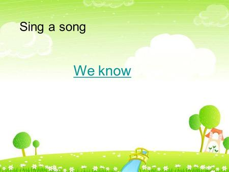 Sing a song We know. Unit10 Review and check insects / I / /e/ ( 昆虫 )