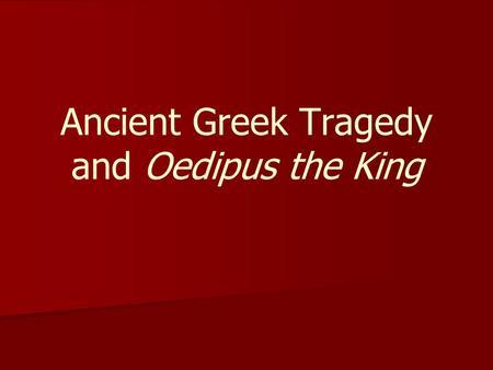 oedipus the king play pdf