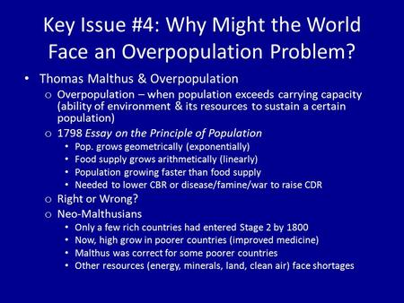overpopulation problems