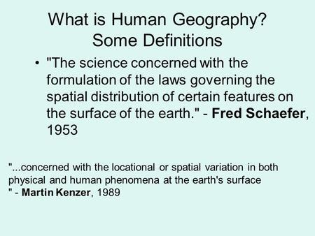 feng shui definition ap human geography