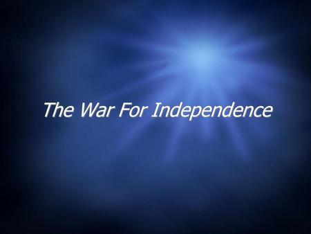 The War For Independence. Causes of the Revolution  What was it? How did it lead to Revolution?  Below the surface…  Navigation Acts  Salutary Neglect.