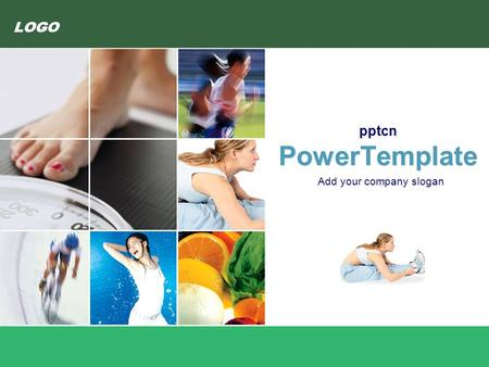 LOGO pptcn PowerTemplate Add your company slogan.