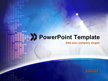 PowerPoint Template Add your company slogan.