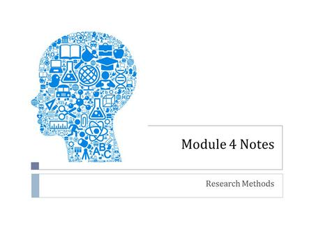 Module 4 Notes Research Methods. Let's Discuss! Why is Research Important?