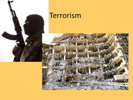 Terrorism. Calculated use of violent acts against civilians and symbolic targets to publicize a cause, intimidate, or coerce a civilization or government.