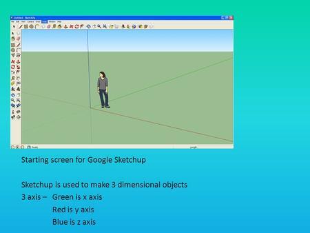 Google SketchUp Castle - ppt video online download