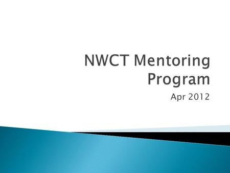 Apr 2012.  Strengthen membership by demonstrating commitment to mentoring  Encourage increased participation through enhanced networking opportunities.