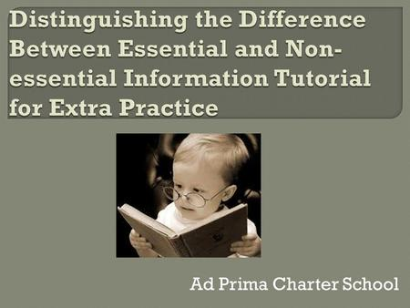 Ad Prima Charter School.  R7.B.3.2.1- Identify, explain, interpret, describe, and/or analyze bias and propaganda techniques in nonfictional text.