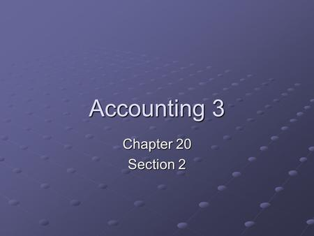 Accounting 3 Chapter 20 Section 2. Journalizing Writing Off an Uncollectible Account Receivable When a customer account is determined to be uncollectible,