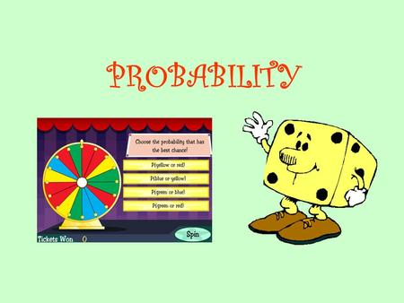 PROBABILITY. Counting methods can be used to find the number of possible ways to choose objects with and without regard to order. The Fundamental Counting.