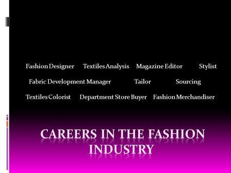 Fashion Merchandising - ppt video online download