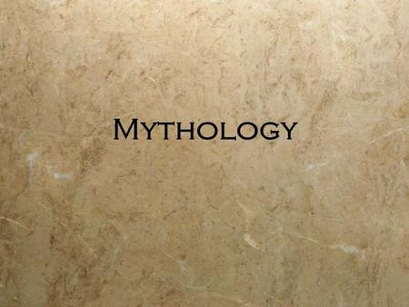 Mythology. Definition 1.A body of myths, as that of a particular people or that relating to a particular person 2.A set of stories, traditions, or beliefs.